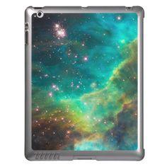 Turquoise Nebula Skinit iPad case