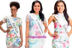 Miss Indonesia 2015 Fast Track Awards Winners