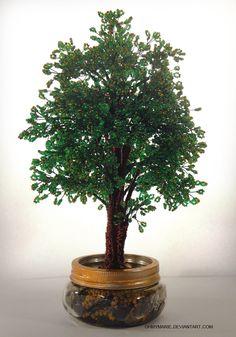 Oak Tree - Chene by ohmymarie.deviantart.com on @DeviantArt