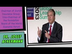 Ackermann: New alternatives to traditional banks   London Business School - Click to watch!