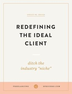 Defining your ideal client can definitely seem overwhelming. How can I restrict myself to only serving one industry? Where should I focus my efforts? Rather than focusing on one industry, I'm sharing how I've redefined my ideal client. Business Advice, Online Business, Business Education, Business Coaching, Successful Business, Life Coaching, Business Design, Creative Business, Business Branding