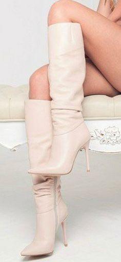 Extreme High Heels, Hot High Heels, Platform High Heels, Womens High Heels, Sexy Heels, Brown High Heel Boots, White Boots, Sexy Boots, Knee High Boots