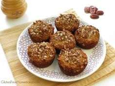 Paleo Pumpkin Muffins at The Gluten-Free Homemaker