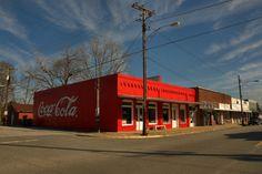 Lumber City GA Telfair County Reimagined Coca Cola Mural Red Brick Americana Photograph copyright brian brown vanishing south georgia usa 2014