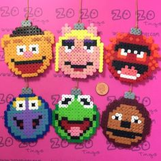 Muppets Ornaments