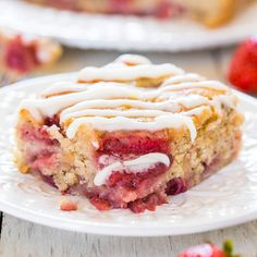 I love the combination of strawberries and bananas, and had never put the two together into a cake. Now I can check strawberry banana cake off my culinary to-do list. The cake is so soft, moist, and packed with creamy bananas and sweet strawberries. And just happens to be vegan, but you'll never miss the eggs or …
