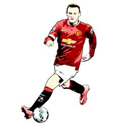 For Wayne Rooney and Rooney fans Man Utd Fc, Football Tattoo, Sports Celebrities, Wayne Rooney, Manchester United Football, Go Red, First Love, Soccer, The Unit