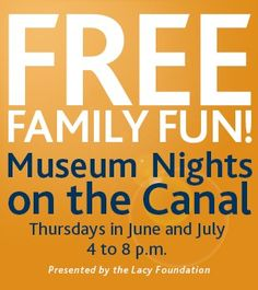 Enjoy FREE Family Fun Every Thursday Night with Concerts on the Canal - Doing Indy