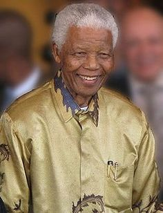 Nelson Mandela. He did it his way!