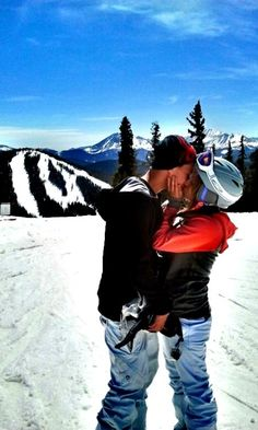 If only I could find a guy that would snowboard with me.  After all why did we move to Colorado???  :)