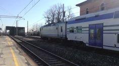 Staz. di Ponte di Brenta, PD  Transito treni, R - ES AV. 2013 - HD -