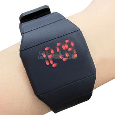 >> Click to Buy << Hot Sales luxury Ultra-thin Fashion Mens Lady Women Touch Digital Red Led Silicone Sports Wrist Watch  0W1B #Affiliate