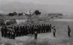 Survivors-Crete, end of May 1941. Of the original 115 men from a fallschirmjäger unit, only the 28 men on this photo survived the battle.