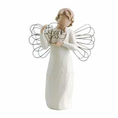 Willow Tree Just For You Figurine supplier reference Message on card inside reads: - With sincere thanks. Height Part of the Willow Tree Angel Ornaments collection. Staff Gifts, Gifts For Family, Teacher Gifts, Best Gifts For Employees, Employee Gifts, Baby Shower Hostess Gifts, Baby Shower Thank You, Shower Gifts, Employee Appreciation