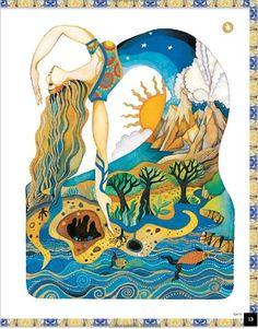 Christina Balit is pure magic. Mythology Books, Greek Mythology, Composition Art, Art Drawings For Kids, Goddess Art, Historical Art, Mural Art, Art And Illustration, Art Journal Inspiration