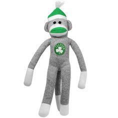 Boston Celtics Sock Monkey