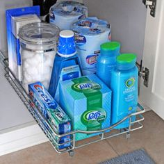 Stocked guest bathro