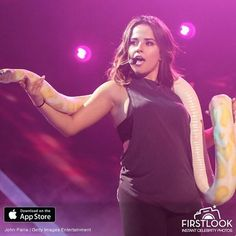MIAMI, FL - JULY 12: Becky G performs during rehearsals Univisions Premios Juventud Awards Rehearsals - Day 1 at Bank United Center (Photo by John Parra/Getty Images for Univision )