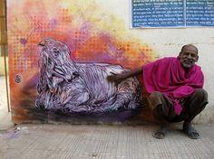 .: Unique India :.: Street Art in India - New Delhi e Udaipur