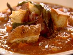 Pappa Al Pomodoro recipe from Ina Garten via Food Network