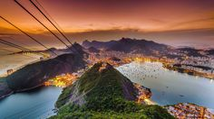 Rio de Janeiro, seen from Sugarloaf Mountain, Brazil (© Juan Carlos Ruiz/500px) – 2016-08-21 [http://www.bing.com/search?q=Sugarloaf+Cable+Car&form=hpcapt&filters=HpDate:%2220160821_0700%22]