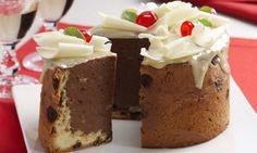 Charlote de chocolate natalina - Amando Cozinhar - Receitas, dicas de culinária, decoração e muito mais!