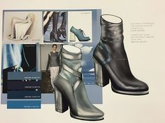 SHOES Trend Book by Veronica Solivellas. Trend information and design proposals…
