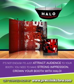 Crown Your Booth With Halo! Call, Email & Ask Us Questions Anytime: 949.307.8990 info@presslinksto.com #printer #printing #advertising #tradeshow #events #seminars #design #print #signage #advantage #advertise #promote #california #offset #digital #graphic #offsetprint #graphicdesign #digitalprint #tradeshowmaterials #halo #tradeshowhalo