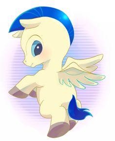 Baby Pegasus Flying Hercules