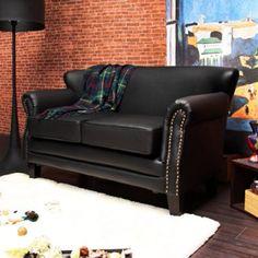 H&D 辛德拉歐式復古獨立筒雙人皮沙發-三色可選歐式古典浪漫風情雙人座 復古銅釘扣扶手滾邊設計 圓弧的外觀造型,讓沙發更舒適和諧 專人送到府/簡易組裝