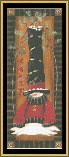 Frozy [JM-85] - $16.00 : Mystic Stitch Inc, The fine art of counted cross stitch patterns