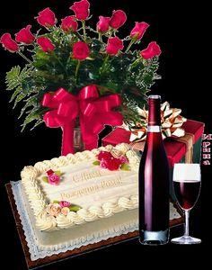 happy birthday flowers and wine - Hľadať Googlom Happy Birthday Ballons, Happy Birthday Wishes Photos, Happy Birthday Cake Images, Birthday Wishes Cake, Happy Birthday Wishes Cards, Happy Birthday Celebration, Happy Birthday Flower, Happy Belated Birthday, Birthday Gifs