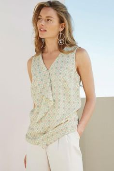Buy Frill Front Top online today at Next: Israel