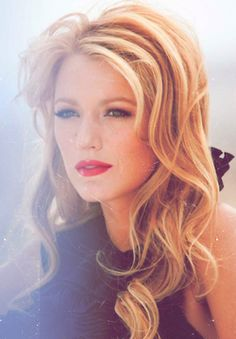 ; Blake Lively, Classic beauty.