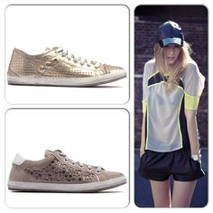 Jump on board the sports-luxe trend with our pretty new arrivals Miffie and Mistie