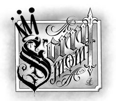 Graffiti Lettering Alphabet, Chicano Lettering, Alphabet Fonts, Tattoo Lettering Styles, Phrase Tattoos, Script Lettering, Sorry Mom Tattoo, Tattoo Letras, Tattoo Quotes For Men