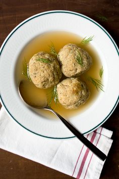 Aunt Gillie's Matzo Ball Soup Recipe | SAVEUR