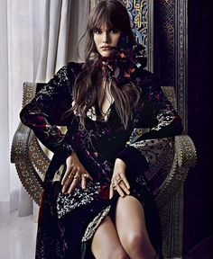 Bohemian inspiration of the day: Vanessa Moody for Harper's Bazaar