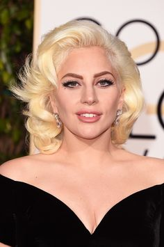 """Lady Gaga tonight one of the stars of the ceremony """"Golden globe"""" – and deservedly so. Description from new-beautyblog.com. I searched for this on bing.com/images"""