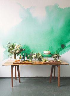 7 Watercolor Inspired Walls