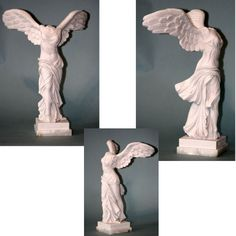 Winged Victory of Samothrace Marble Statue
