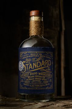 Old Standard Moonshine by Chad Michael Studio