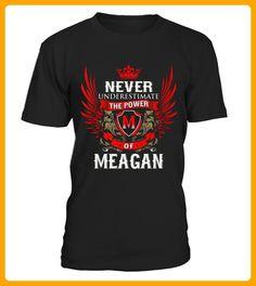 Best Never Under Estimate Power of MEGAN front Shirt - Vegan shirts (*Partner-Link)