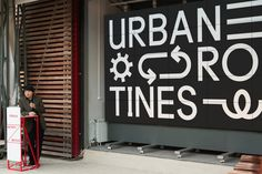 Strelka Institute – Urban Routines - A London-based design studio working in the fields of art, culture and commerce.