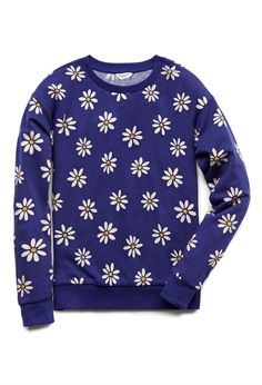 Dainty Daisy Sweatshirt (Kids) | FOREVER21 Covered in daisies #Floral #Juniors #SweaterWeather