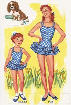 Miss Missy Paper Dolls: children