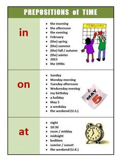 PREPOSITIONS OF TIME #Englishgrammar #Prepositions #английскаяграмматика