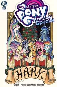 My Little Pony 2019 Holiday Special by Andy Price. Online Comic Books, Free Comic Books, Disney Classics Collection, Christmas Comics, Avengers Alliance, Free Comics, Train Rides, My Little Pony, Card Games