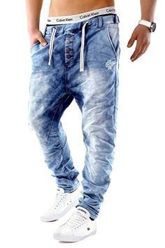 Herren Jeans JoggJeans Backyard Freestar ID1242 Slim Fit (Gerades Bein), Farben:Hellblau;Größe Jeans / Hosen NEU:W32