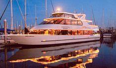 Houston dinner cruise, Kemah yachts for Houston weddings, houston party venues